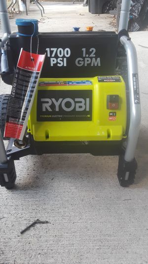 Ryobi electric pressure washer for Sale in Hillcrest Heights, MD