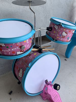 Hello Kitty Kids Drum set for Sale in Los Angeles, CA