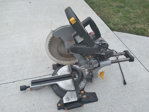 Chicago electric compound miter saw for Sale in Southfield, MI