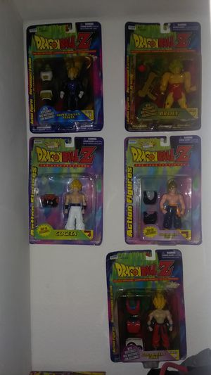 Dragonball Z Irwin Figures NEW for Sale in Seattle, WA