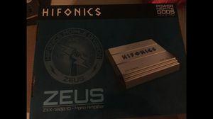 Hifonics zeus ZXX-1200.10 Mono Amplifier (BRAND NEW) for Sale in Greenbelt, MD