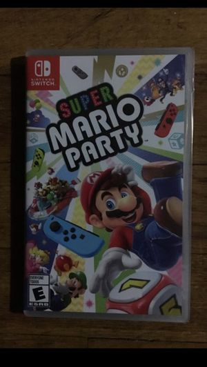 Super Mario Party Nintendo Switch for Sale in Cleveland, OH