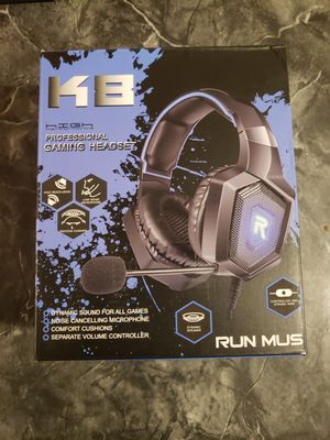 Run Mus Gaming Headset for Sale in Boca Raton, FL