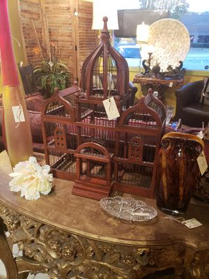 Antique wooden bird house for Sale in Spartanburg, SC