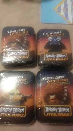 Star Wars Angry Birds Playing Cards for Sale in Ocala, FL