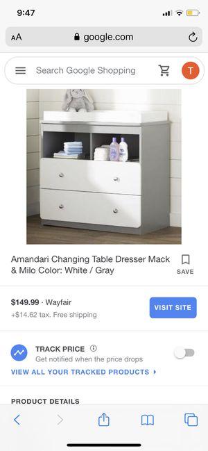 Amandari changing table for Sale in Secaucus, NJ