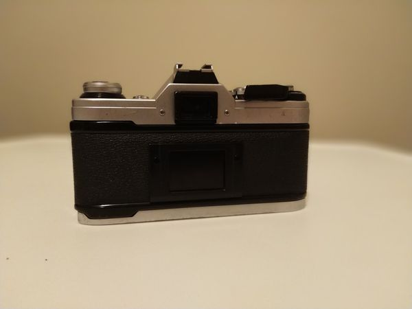Canon AE-1 with 35-105mm lense
