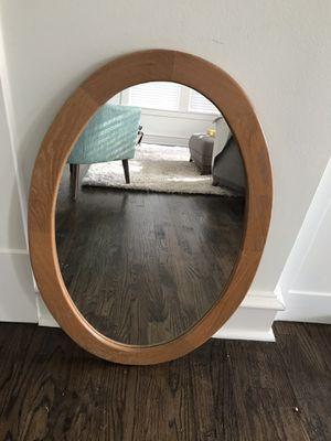 Oval vanity mirror for Sale in Dallas, TX