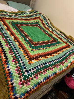 Hand crocheted blanket for Sale in Inwood, WV