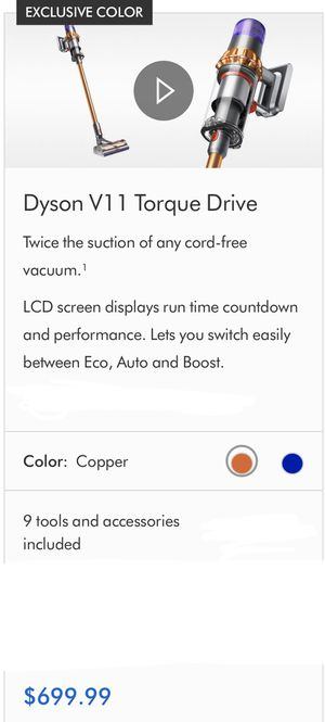 Dyson V11 Torque for Sale in The Bronx, NY
