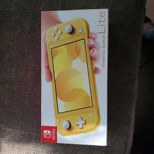 Nintendo Switch Lite Trade For The Nintendo Switch No Lite One And It Has To Have The TV Part for Sale in Highland, CA