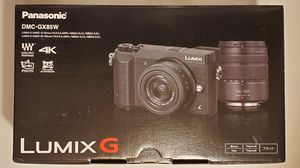Panasonic LUMIX GX85 4K Digital Camera, 12-32mm and 45-150mm Lens Bundle, 16 Megapixel Mirrorless Camera Kit, 5 Axis In-Body Dual Image Stabilization for Sale in Davenport, FL