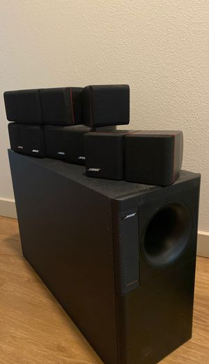 Bose Acoustimass 10: Home Theater Speaker System for Sale in Santa Rosa, CA