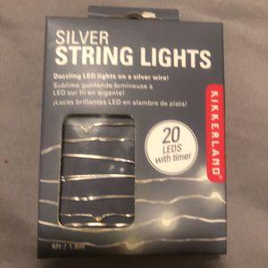 Kikkerland Silver String Lights – for Sale in San Leandro, CA
