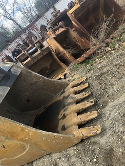 Excavator buckets all different sizes for Sale in Sicklerville,  NJ