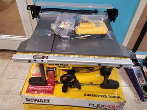 Dewalt 60v 81/4 table saw kit for Sale in Johns Creek, GA