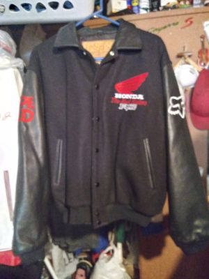 Fox Honda Motorcycle leather Jacket for Sale in Sunnyvale, CA
