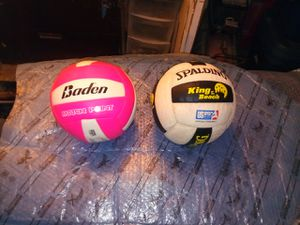 Baden match point and spalding king of the beach volleyballs for Sale in Los Angeles, CA
