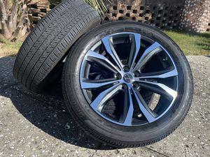 "20"" Lexus RX350 F Sport RX-350 5 lug wheels original take offs black rims tires 235/55r20 Bridgestone oem factory for Sale in Matthews, NC"