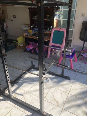 Squat and bench rack with dip bar for Sale in Carson, CA
