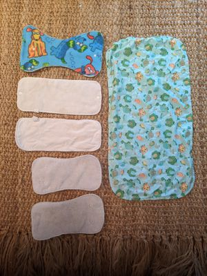 Diaper Inserts and Changing Pad for Sale in Harrisonburg, VA