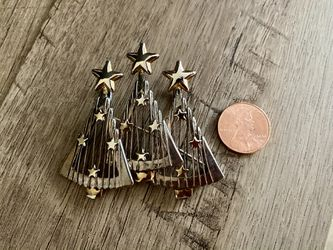 Vintage Silver & Gold Tone Christmas Tree Pendant/Brooch for Sale in Smyrna,  GA
