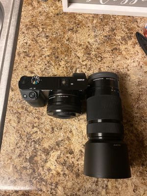 Sony ax6000 with 16-50 and 55-210 for Sale in Davenport, FL