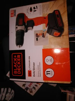 Black and Decker drill for Sale in Midvale, UT