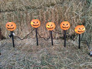 Halloween pumpkin light strings for Sale in Morgan Hill, CA
