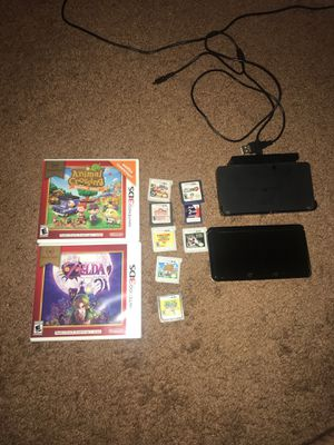 3ds with games and charger for Sale in Spring Valley, CA