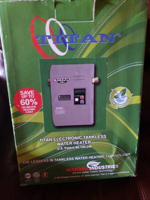 Titan electric water heater N160 tankless water heater for Sale in Brandon, FL