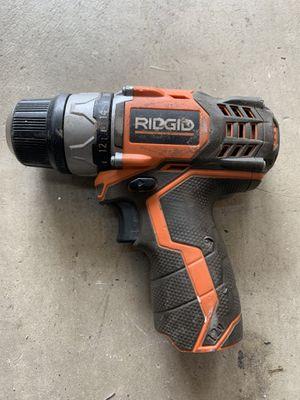 Rigid 12v drill for Sale in Grand Terrace, CA