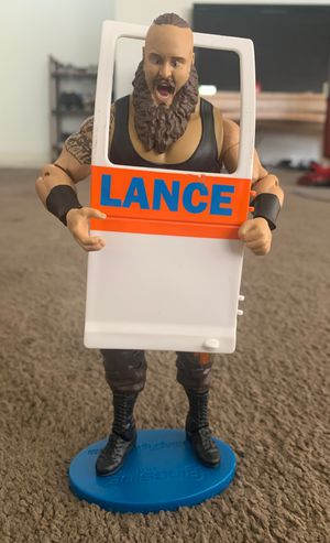 Wwe action figure , Braun strowman for Sale in Downey, CA