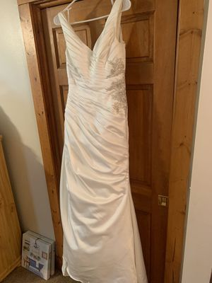 David's Bridal ivory wedding dress. Sz 4 for Sale in Murfreesboro, TN