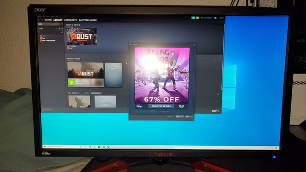 Acer Predeator 4K monitor with G-Sync