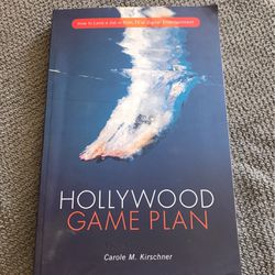 Hollywood Game Plan Performing Arts Film Reference Book for Sale in Inglewood,  CA