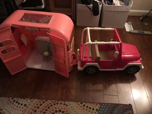Doll size Camper and Truck for Sale in Hyattsville, MD