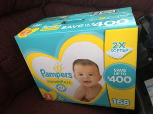 Pamper swaddlers size 2 for Sale in Cleveland, OH