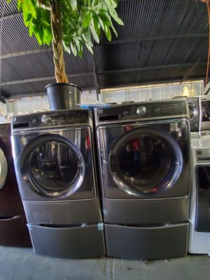 Kenmore JUMBO Washer And Dryer ONLY $40-$59 DOWN for Sale in LA CANADA FLT, CA