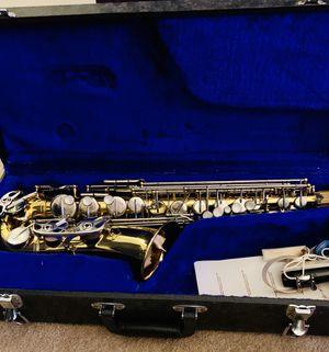 Vintage E M Winston Boston Gold Saxophone deluxe for Sale in Hartford, CT