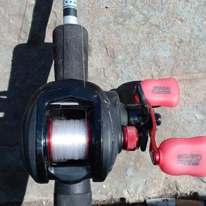 Abu Garcia Reel Rod Is Authentic for Sale in San Antonio, TX