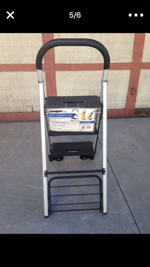 2 in 1 ladder cart for Sale in South El Monte, CA
