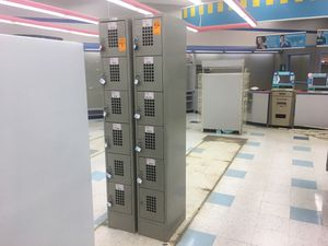6-Hole Lockers with combination locks for Sale in Dexter, ME