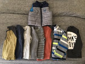 Toddler boy long sleeve shirt & jacket - Size 18 month - 9 pieces for Sale in Phoenix, AZ
