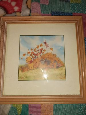 Disney pooh bear vintage picture for Sale in Louisville, KY