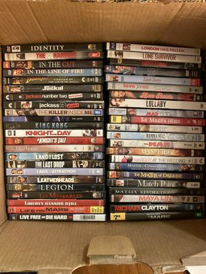 ~ 600 DVD's - all genres for Sale in Everett, WA