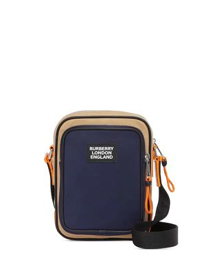 Burberry logo two-tone messenger bag for Sale in Gaithersburg, MD