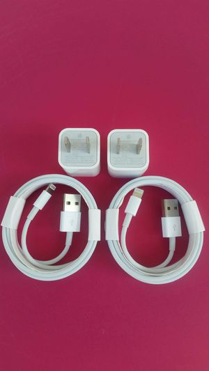 2 (2m) Brand New Original Apple IPhone Chargers for Sale in Lincoln Acres, CA