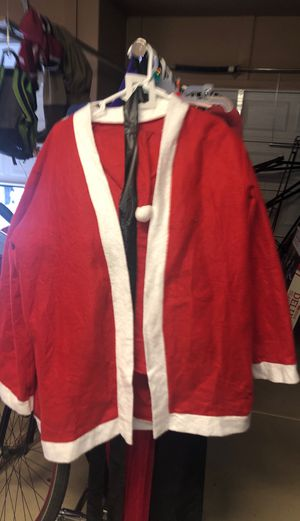 Christmas Santa Claus outfit/costume for Sale in Goodyear, AZ