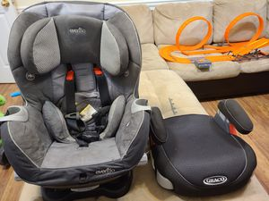 Car and booster seat for Sale in Dallas, GA